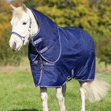 Horseware Amigo Hero 900 Plus Med 200g Ponny Atlantic Blue with Atlantic Blue/Ivory