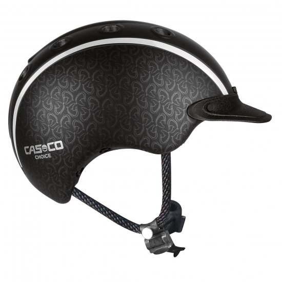Casco Choice 2018 Ridhjälm VG1 Svart