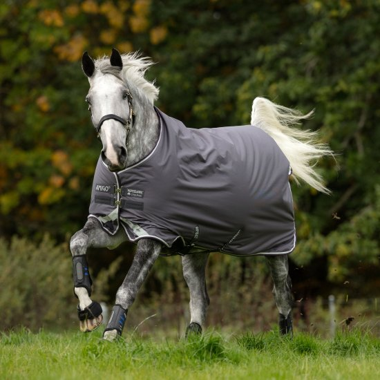 Horseware Amigo Bravo 12 Original Medium 250g Excal/Plum & Silver