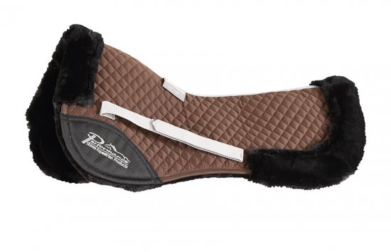 Shires Performance Half Pad brun