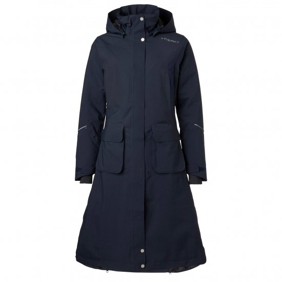 Stierna Nova Rain Coat Midnight Navy fram